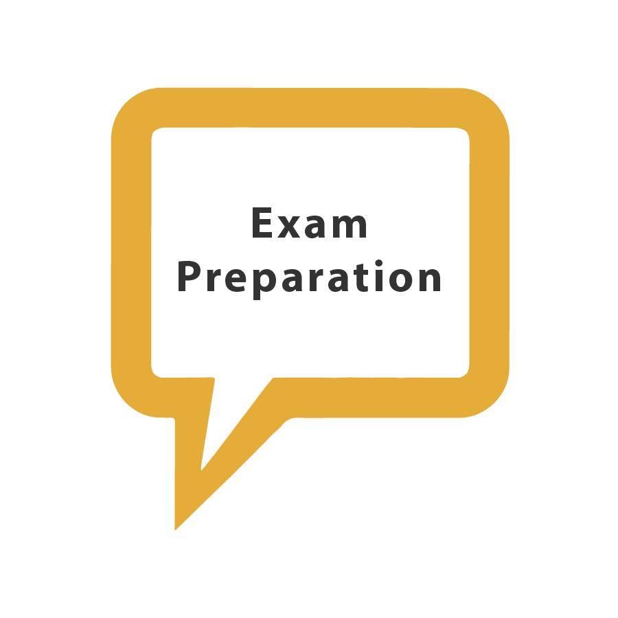 Preparation for GCSE and A Level exams
